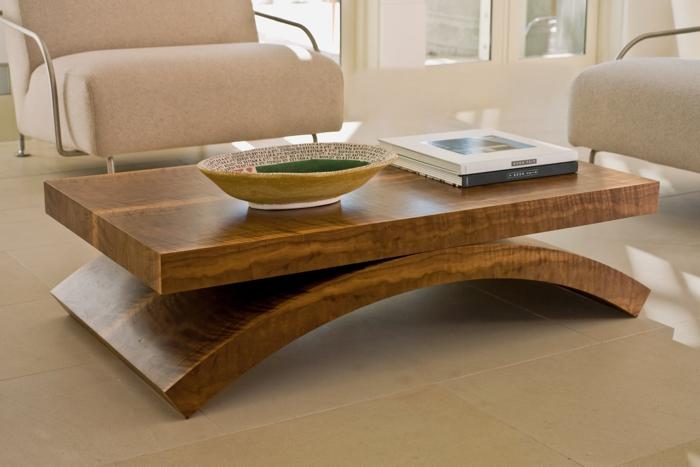 couchtisch design holz modern - boisholz - Wohnzimmertisch Modern