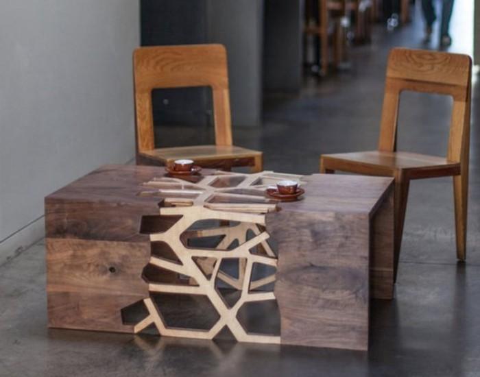 Couchtisch aus Holz wunderschne Modelle und Bilder  Archzinenet