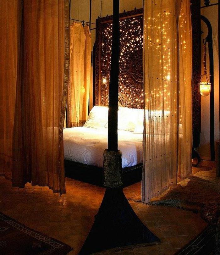 Romantisches Bett gestalten 25 Ideen  Archzinenet