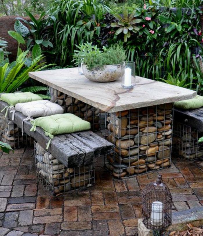 Rustikale Gartenmbel die jedem Freiraum passen