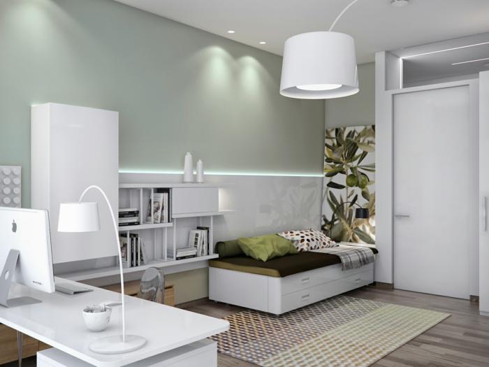 Bro und Gstezimmer kombinieren Ideen fr einen perfekten Kombiraum  Archzinenet