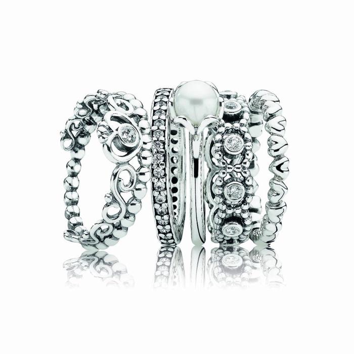 Silber Ringe Pandora