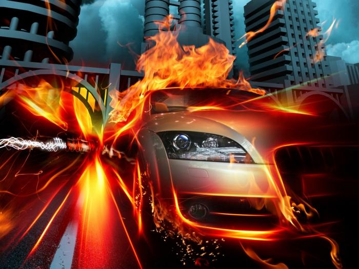 Fire Car Wallpapers Download 40 Total Verbl 252 Ffende Feuer Wallpaper Archzine Net