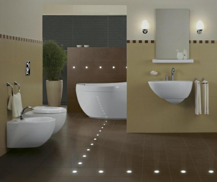 Indirekte Beleuchtung Boden  Wohndesign
