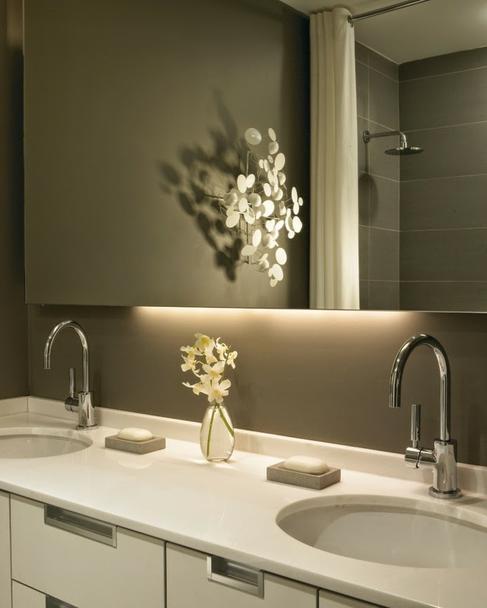 LED indirekte Beleuchtung fr ein exklusives Badezimmer  Archzinenet