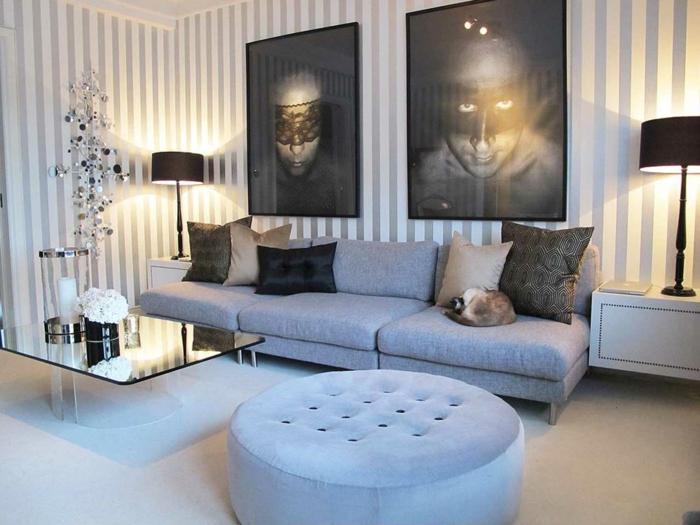 wohnzimmer tapeten wohnzimmer beispiele italienische wohnzimmer 52 ... - Tapeten Fr Wohnzimmer Mit Weien Hochglanz Mbeln