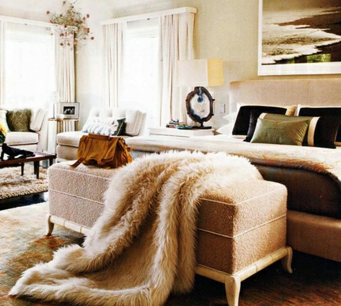 wohnzimmer modern einrichten kalte oder warme tone schlafzimmer, Moderne deko