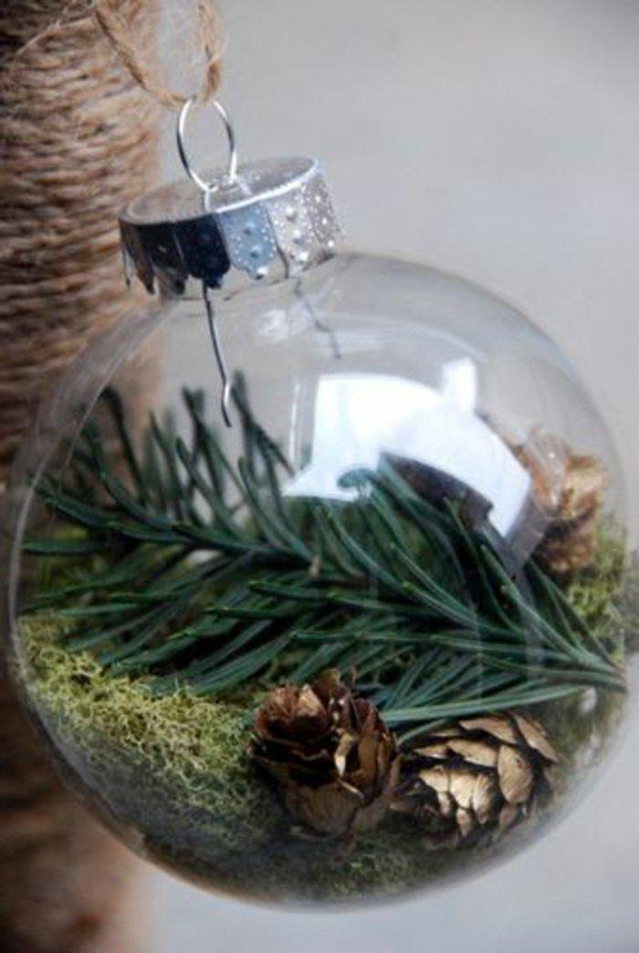 Ideen fr weihnachtliche Dekoration mit Tannenzweigen