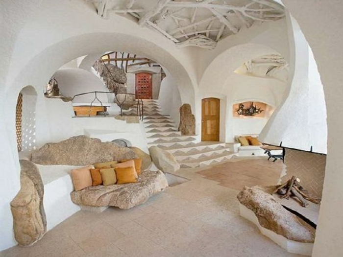 Abstrakte Zimmer Deko Ideen fr Ihre Wohnung  Archzinenet