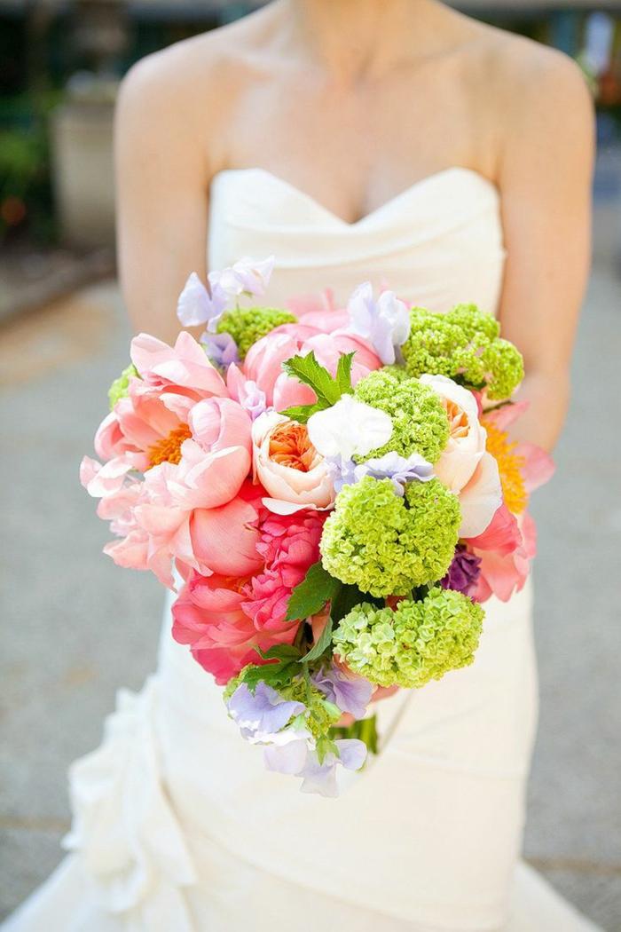 Hochzeitsstrau Weie Rosen