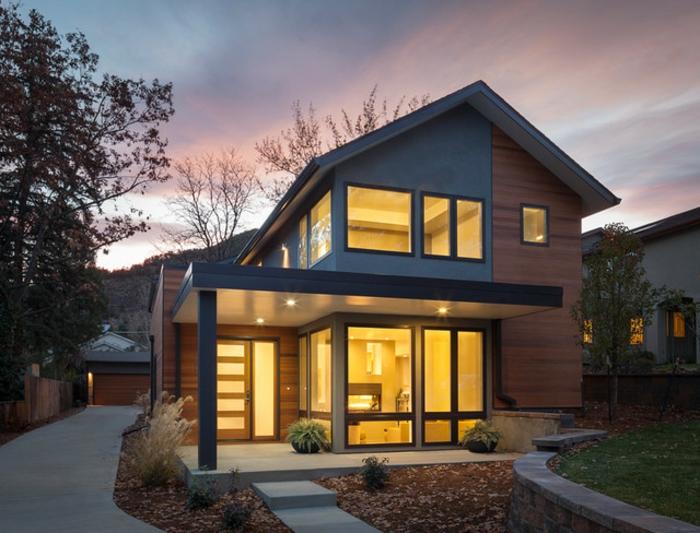 Moderne Hauser Mit Satteldach Haus Satteldach