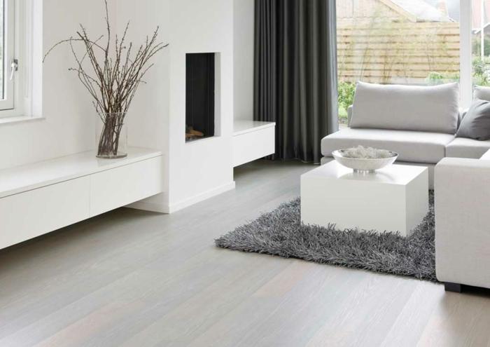herrlich moderne wohnzimmer boden laminat fr modern | ziakia