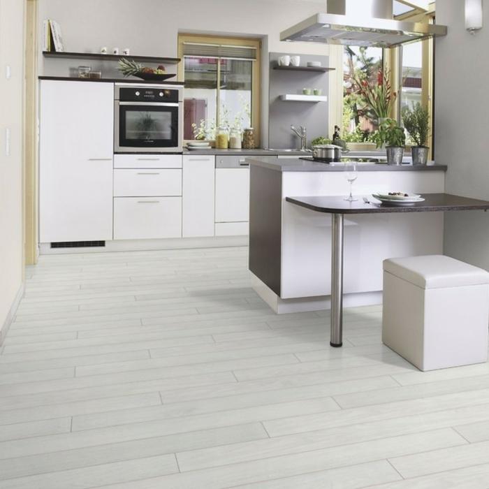 Küche Laminatboden | Schöne Küche Mit Laminatboden Und ...