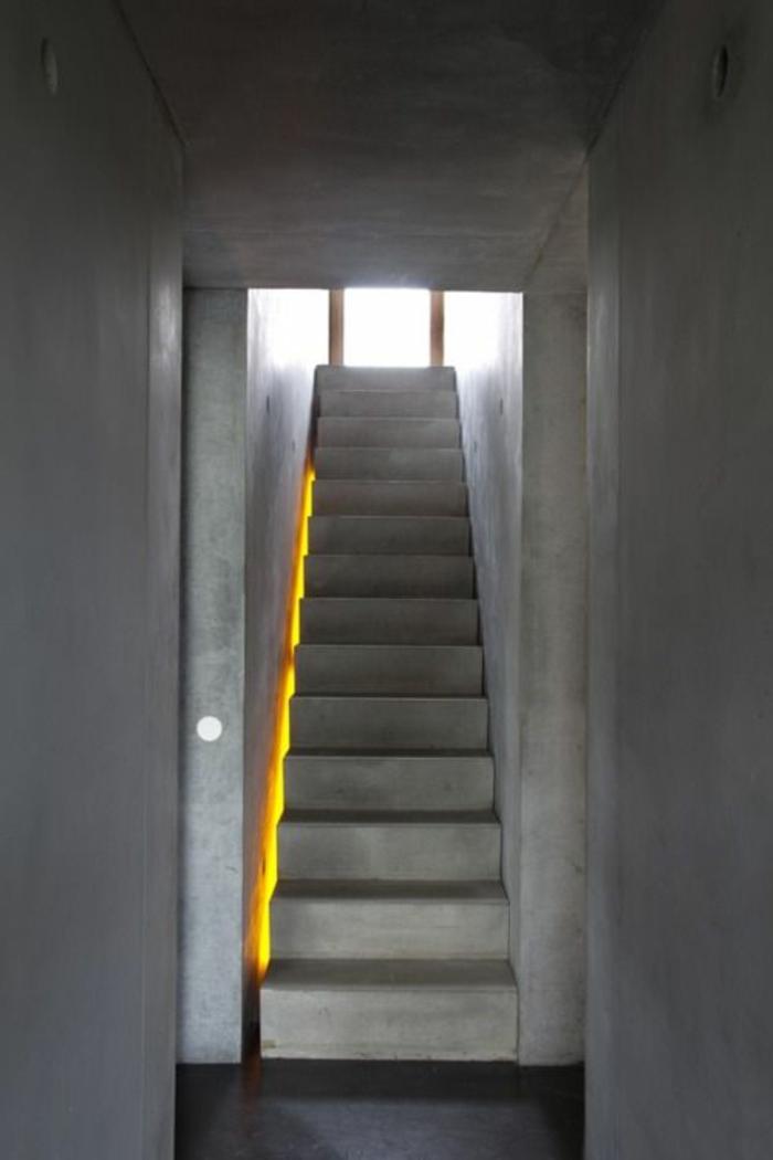 Sehr originelle Ideen fr Led Treppenbeleuchtung  Archzinenet