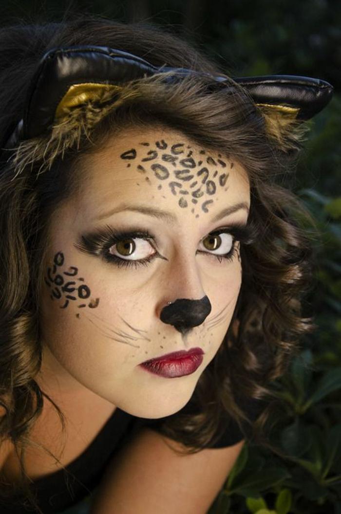 Leopard Gesicht Schminken 56 tolle Ideen  Archzinenet
