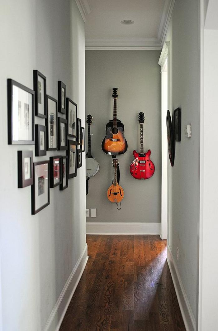 Die Akustik Gitarre als Teil des Interieurs  Archzinenet