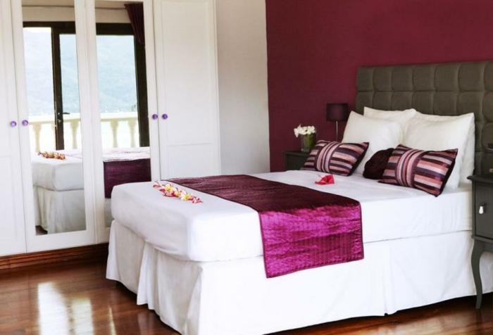 Farbideen Schlafzimmer Wände | Moderne Wandfarben Für Wohnzimmer