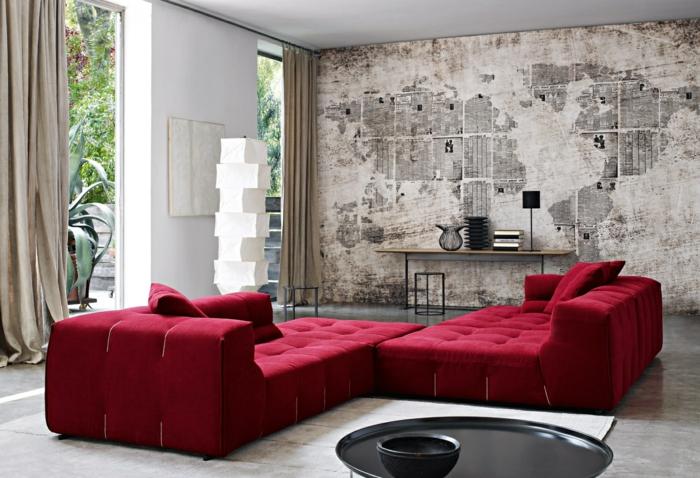 Moderne Zimmerfarben Ideen in 150 unikalen Fotos  Archzinenet