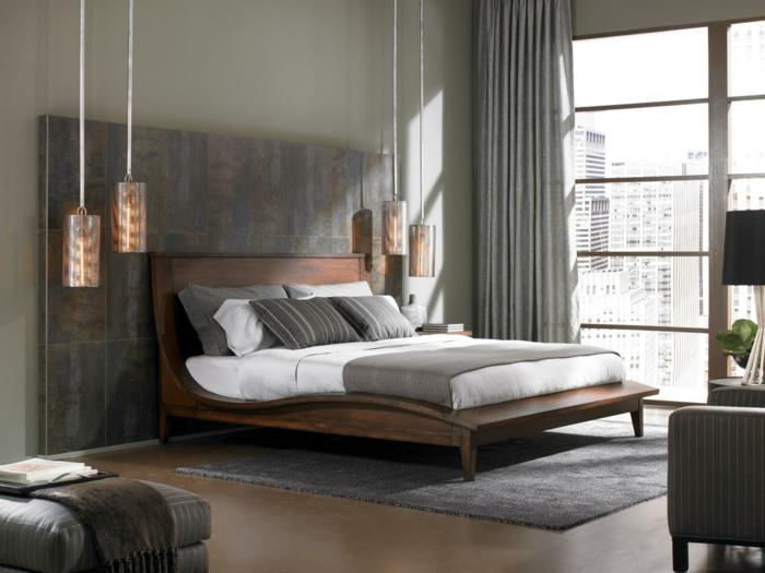 wohnideen fuer das moderne schlafzimmer - boisholz, Innenarchitektur ideen