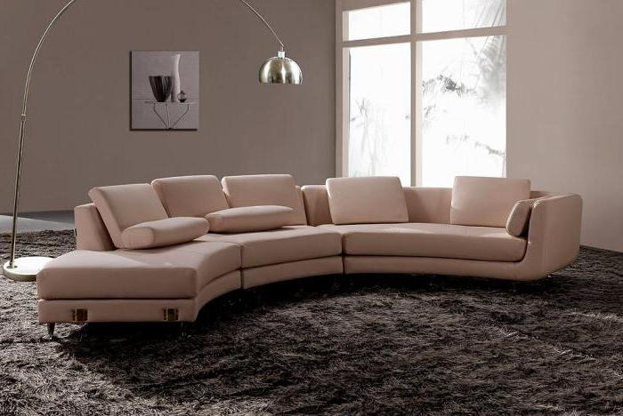 Halbrundes Sofa  ist das Ihre Sache  Archzinenet