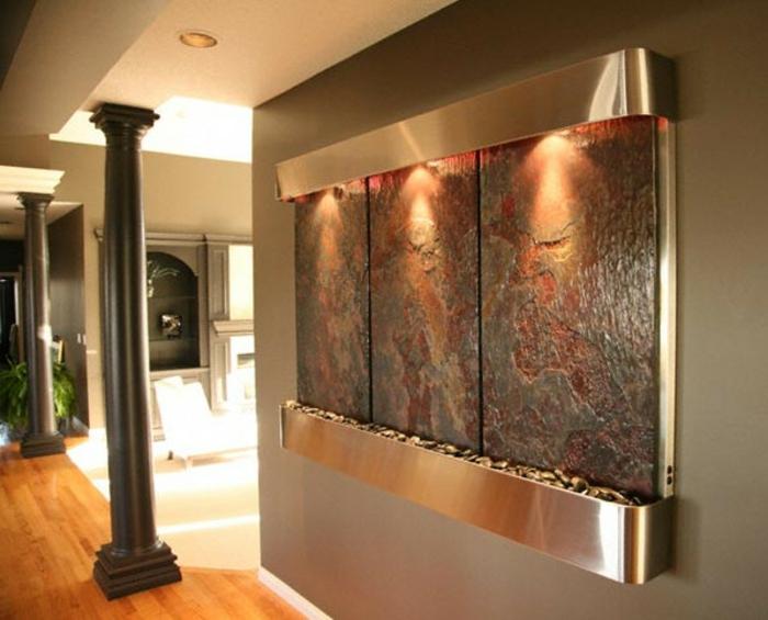 Zimmerbrunnen mit Wasserfall 45 tolle Designs  Archzinenet