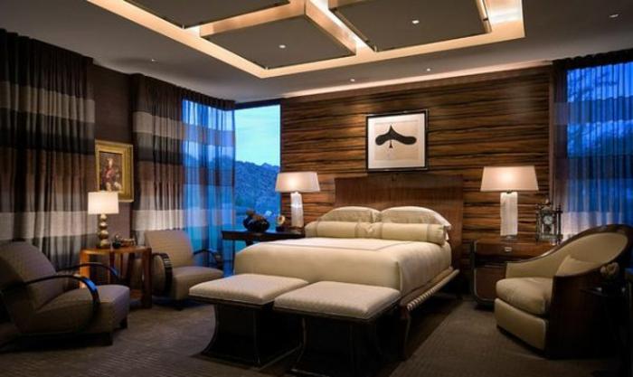 wohnzimmer zimmerdecken neu gestalten unikale idee mit indirekter ... - Zimmerdecken Gestalten