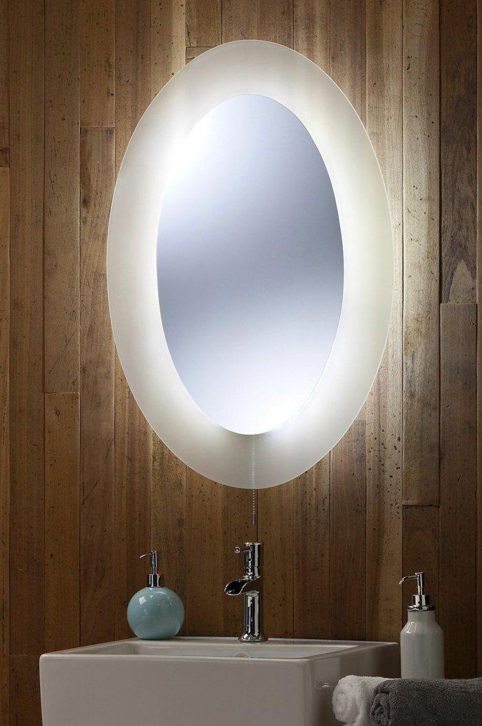 Badspiegel mit Beleuchtung  praktisch und elegant  Archzinenet