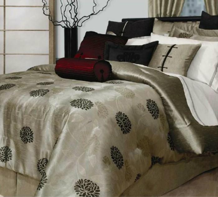 Moderne Bettwsche fr ein exklusives Schlafzimmer