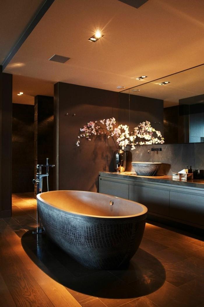 Badezimmer Fernseher Spiegel Haus Ideen