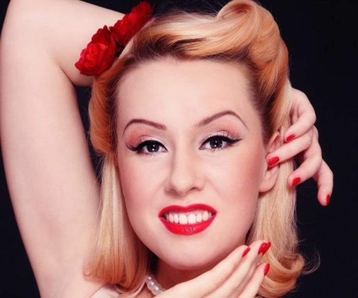 140 Rockabilly Frisuren von den 50er inspiriert