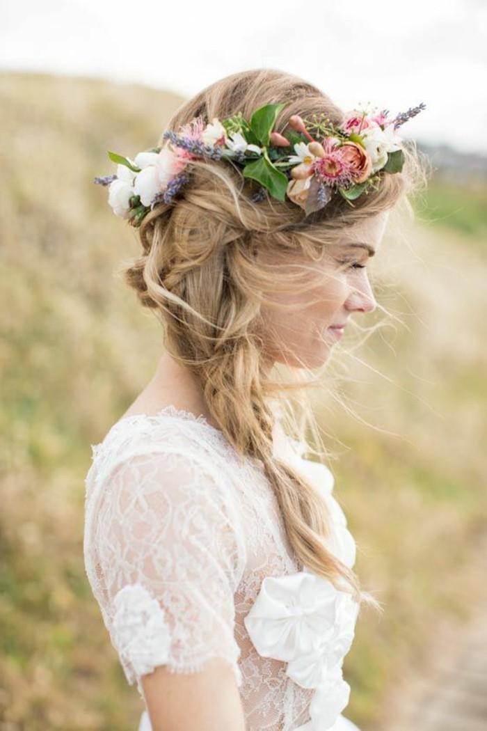 Haarschmuck mit Blumen fr Brute  50 Bilder  Archzinenet