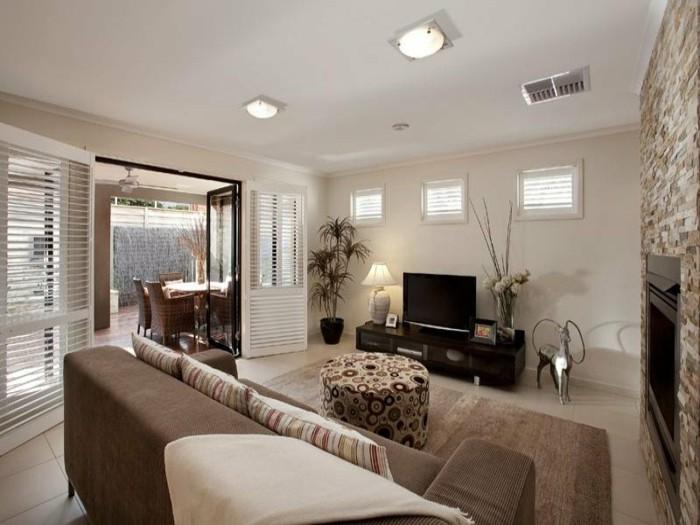 Wohnzimmer Beige Wohnzimmer Beige Braun Streichen Wandfarbe Grau,  Innenarchitektur Ideen