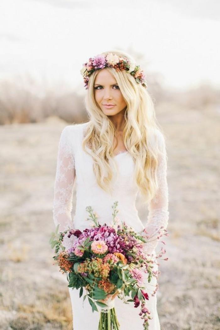 Haarschmuck mit Blumen fr Brute  50 Bilder