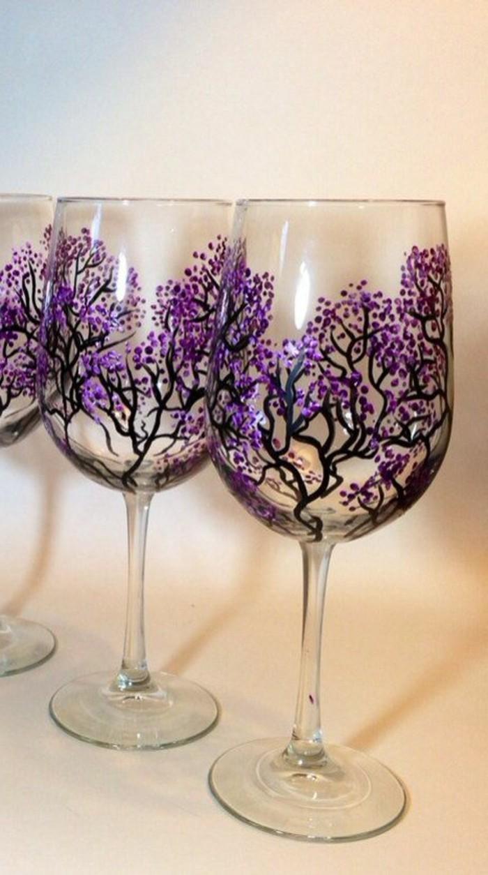 43 fantastische Beispiele fr Weinglas mit Dekoration