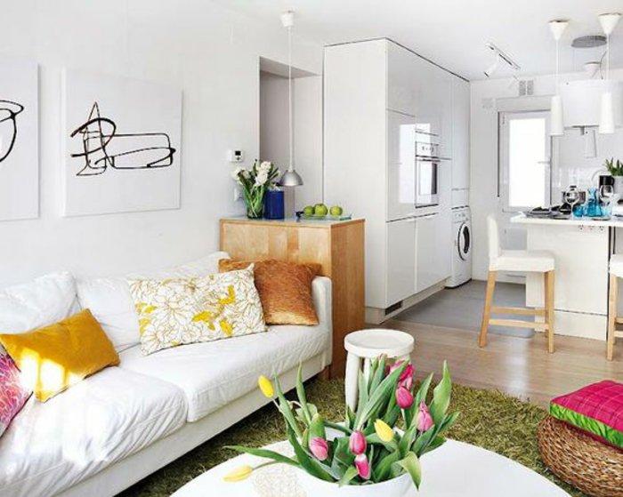 Kleines Wohnzimmer einrichten  eine groe Herausforderung