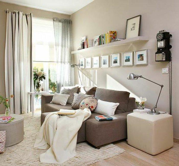 kleine wohnzimmer einrichten ideen - boisholz - Ideen Einrichtung Kleines Wohnzimmer