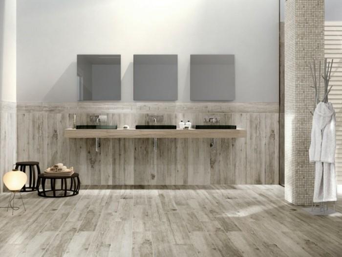 Bodenfliesen in Holzoptik fr ein tolles Bad