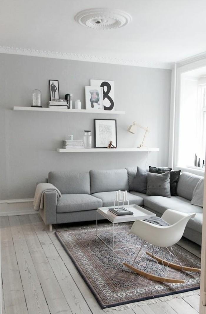 kleines schlafzimmer einrichten ideen home deko ideen | designmore - Wohnzimmer Ideen Wandgestaltung Regal