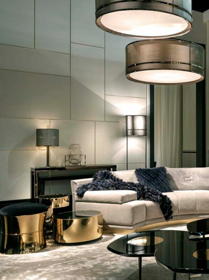 Extrem Großes Wohnzimmer | Schöne Kerzen Sind In Jede Wohnung Willkommen TI76