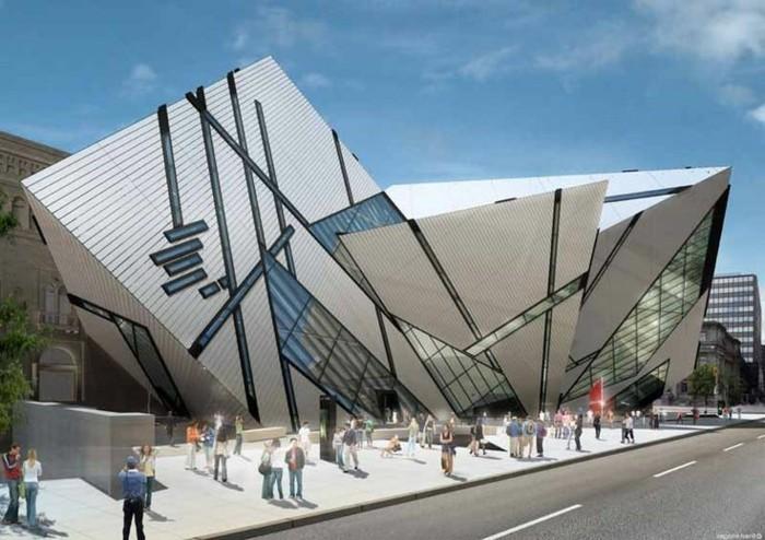 Postmoderne Architektur  nicht konventionell  Archzinenet