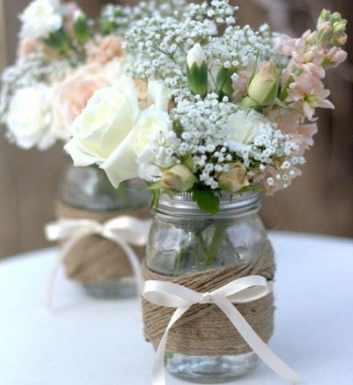 54 Dekos fr eine romantische DIY Hochzeit  Archzinenet