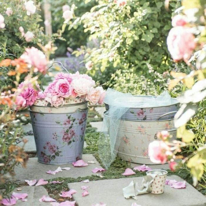 40 Beispiele fr Shabby Chic Garten mit VintageFlair  Archzinenet