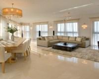 Fliesen im Wohnzimmer  elegante Bodenbelge - Archzine.net
