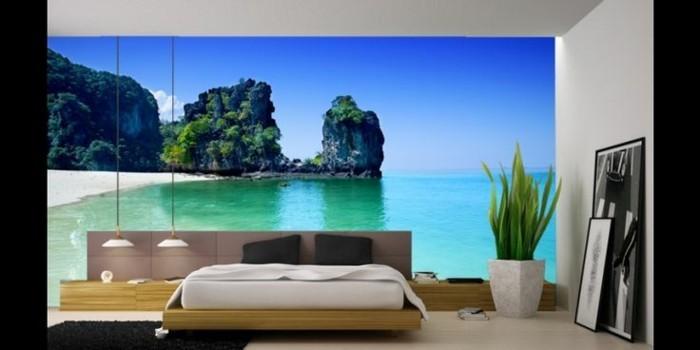 40 einmalige Fototapete Strand  immer ist es Sommer