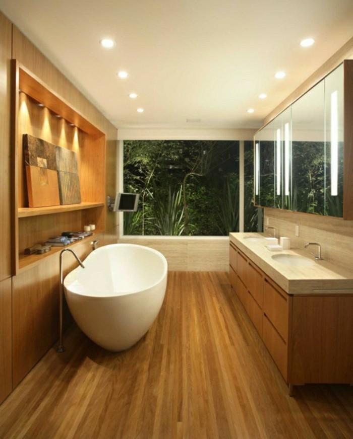 Waschtisch Holz Massiv | Badezimmer Spiegelschrank Holz