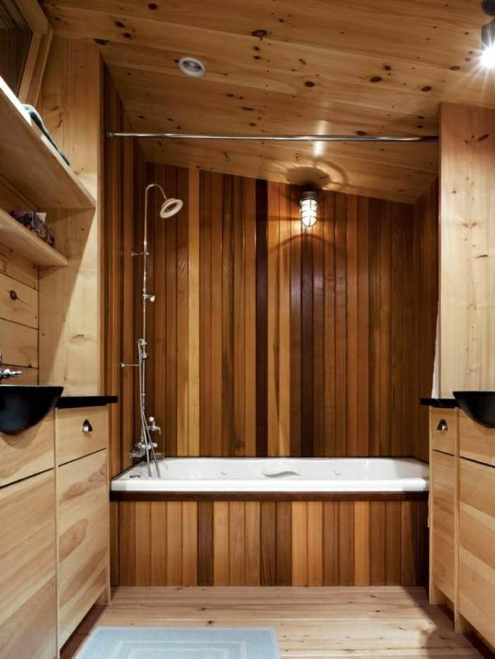 Badezimmer Mit Holz Verkleiden