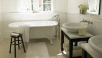 Ausgefallene Designideen fr ein Landhaus Badezimmer ...
