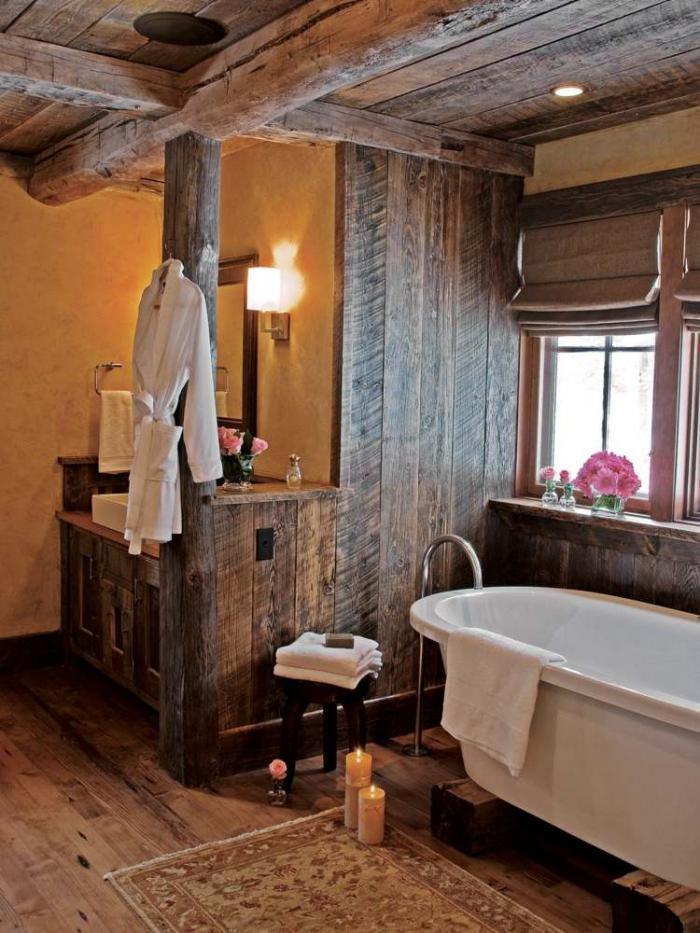Ausgefallene Designideen fr ein Landhaus Badezimmer  Archzinenet