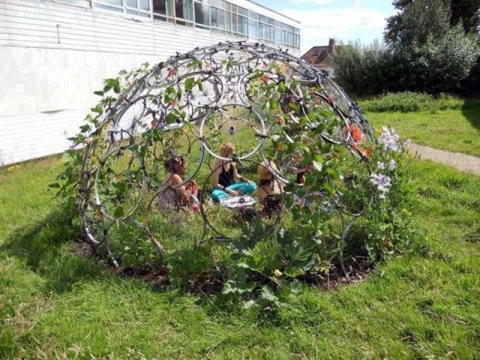 Lustige Gartendeko Selber Machen Akzent Auf Dem Gras
