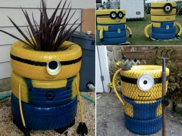 Gartendeko selber machen 50 lustige Ideen